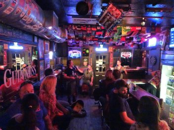 Our first show at The Shamrock