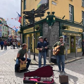 On the streets in Galway